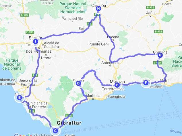 Andalusia Tour 10 giorni